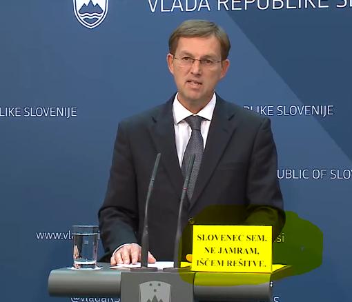 Cerar Slovenec sem