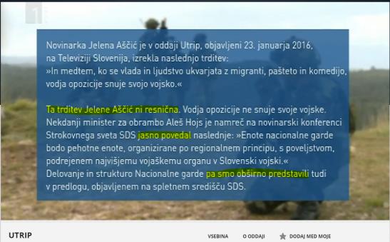 Demanti SDS Utrip Jelena Ascic