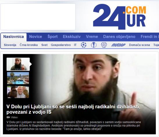 Die Presse teroristi v LJ 24 ur