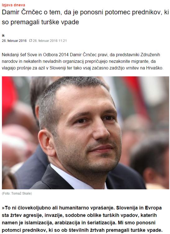Dnevnik Črnčec turški vpadi