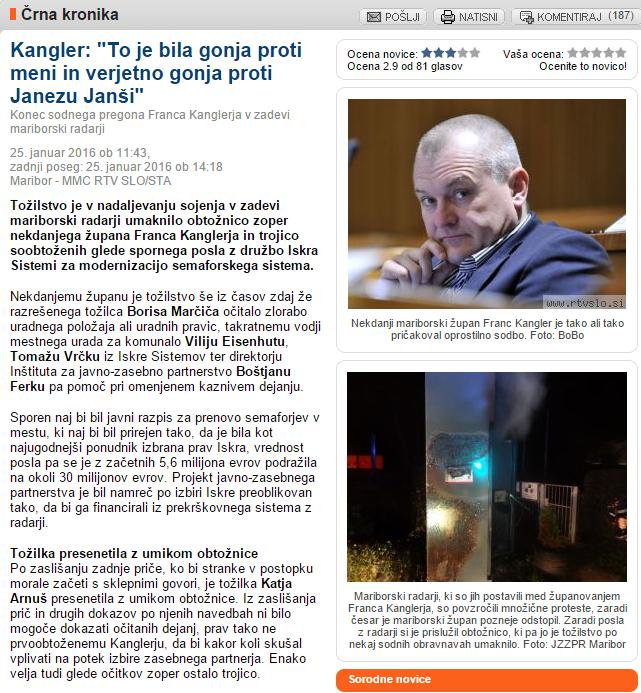 Kangler gonja obtožnica MMC