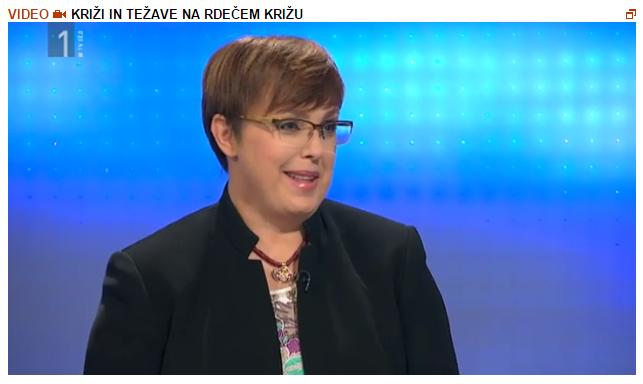 Nataša Pirc Žnidaršič RTV