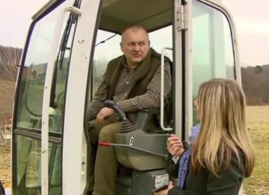 Svet Kangler Mojca Hanžič traktor