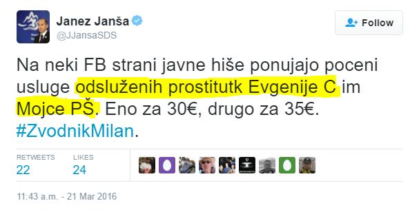 Janša Carl prostitutka