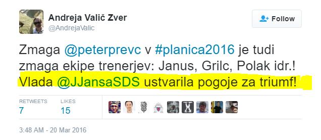 Valič Zver Prevc SDS