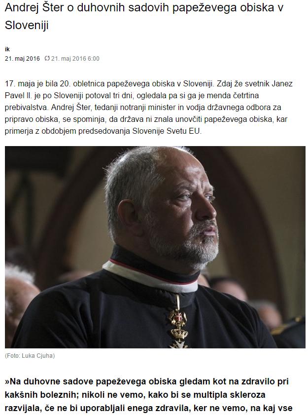 Šter papež dnevnik