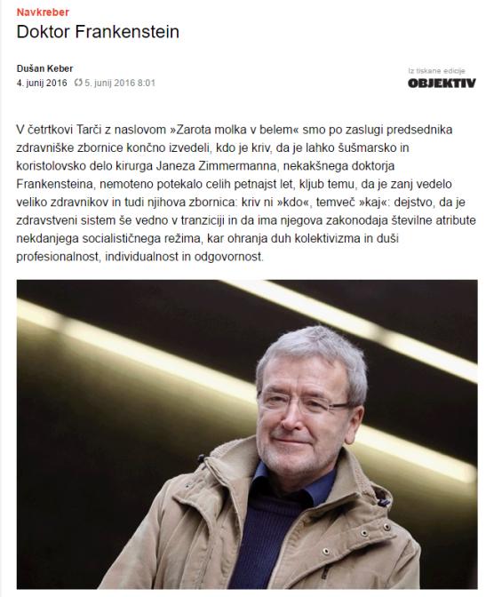 Keber Dnevnik Zimmermann