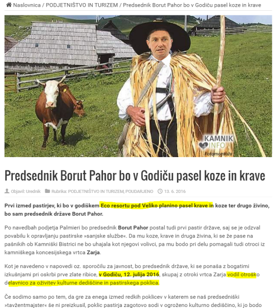 Pahor pase koze 1