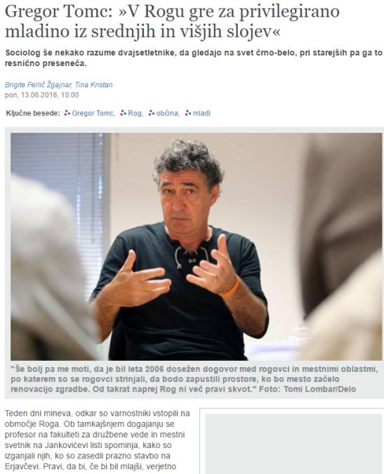 Tomc Delo intervju naslovna