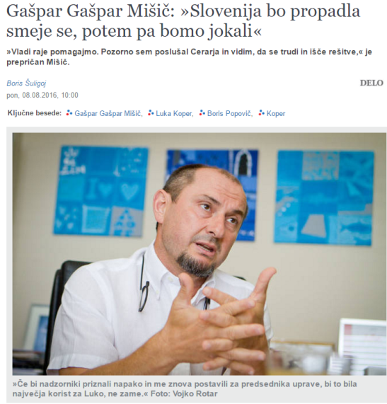 Gašpar Mišič Šuligoj Delo