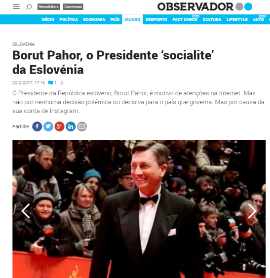 Pahor politico Observador