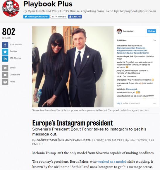 Pahor Politico