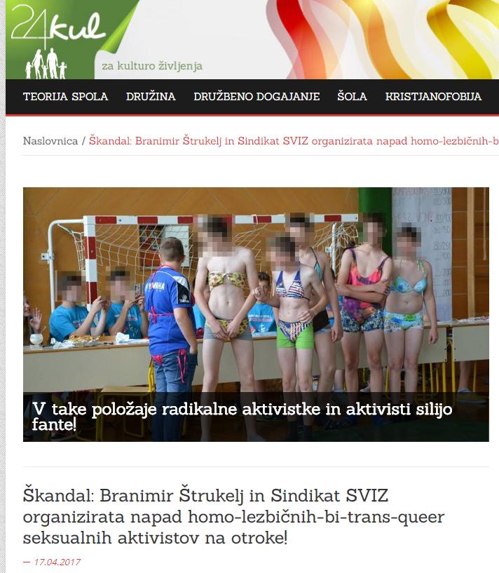24kul Štrukelj aktivizem