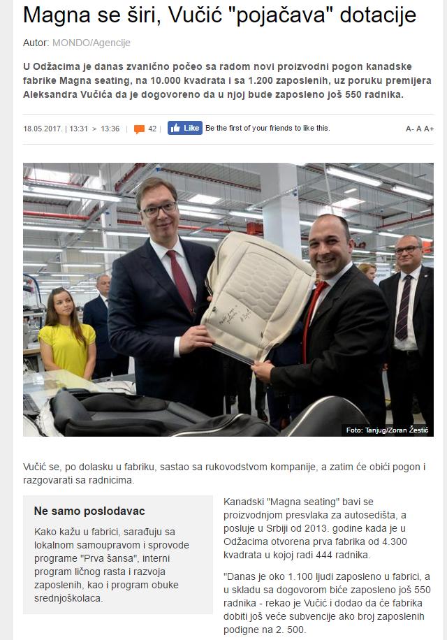 Magna Srbija Vučić