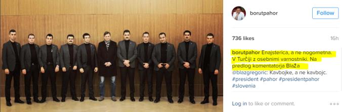 Pahor varnostniki