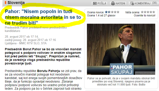 Pahor nisem moralna avtoriteta mmc