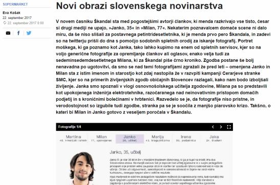 Dnevnik Košak Škandal