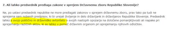 Predsednik Pahor moralna avtoriteta slovenski prevod