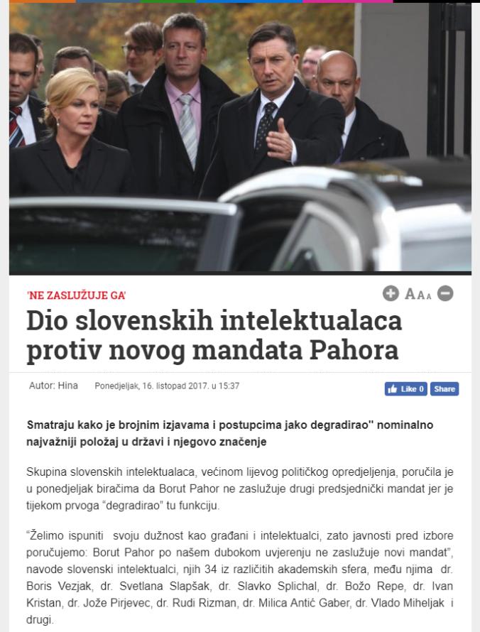 Hina Pahor pismo