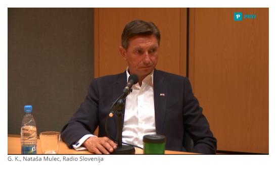 Pahor radio intervju