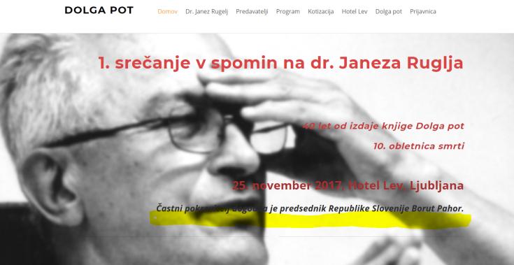 Pahor Rugelj častni pokrovitelj