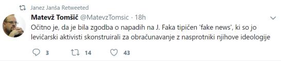 Janša Tomšič Fak