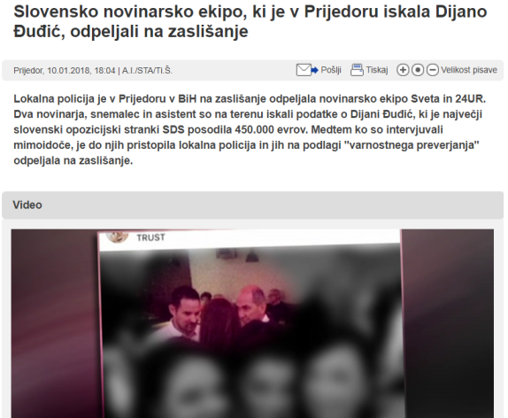policija pop tv snežič