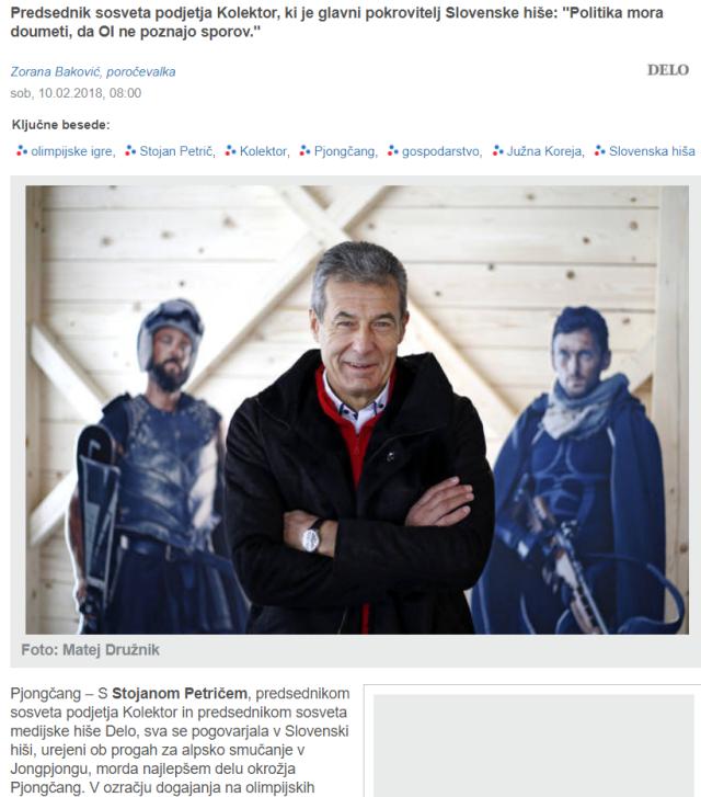 Petrič intervju Delo olimpijske