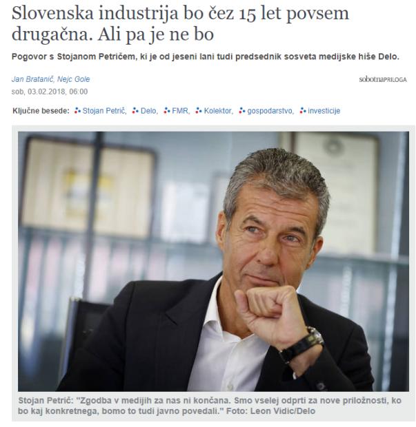 Petrič intervju naslovna