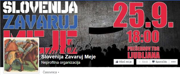 Slovenija zavaruj meje Fb