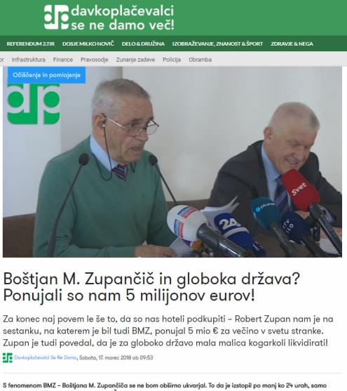 BMZ Kovačič 5 mio
