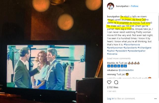 Pahor čedno dekle instagram