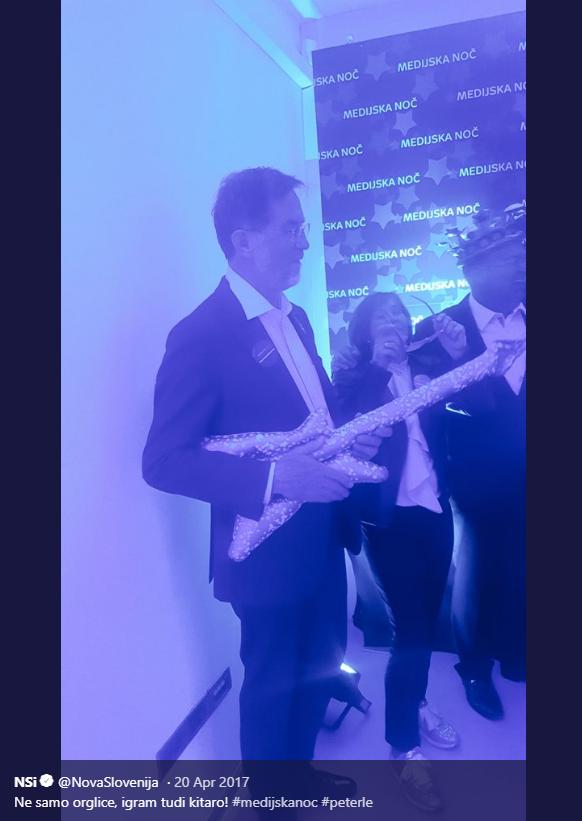 Peterle kitara Medijska noč