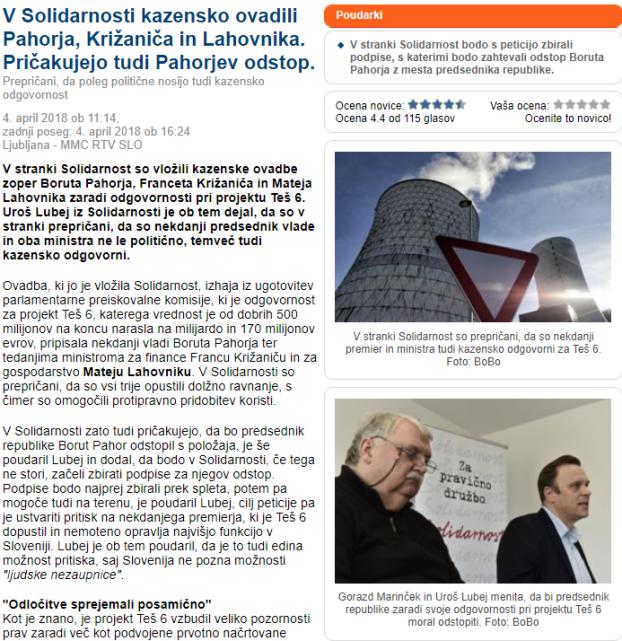 Solidarnost ovadba Pahor MMC