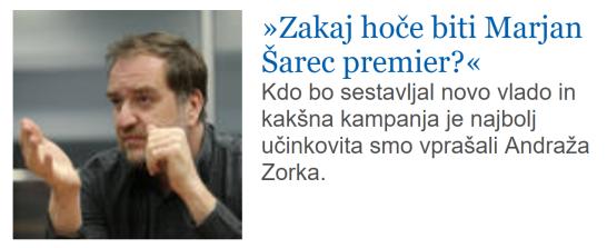 Zorko Šarec premier