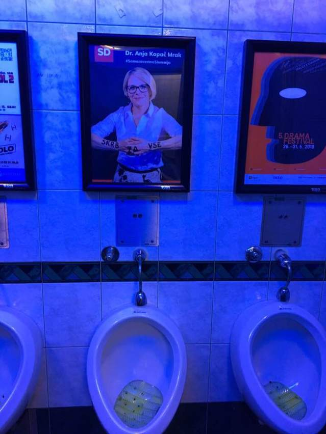 Kopač Mrak skrb wc