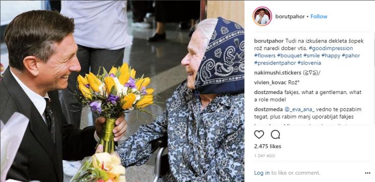 Pahor rože koketiranje