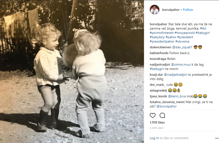 Pahor zanima ga punčka