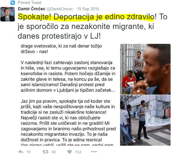 Črnčec deportacija