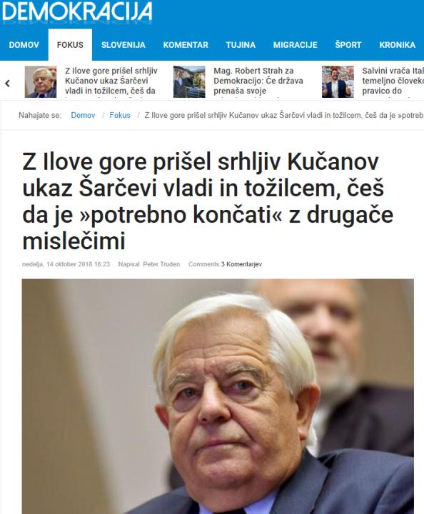Demokracija Kučan ukaz