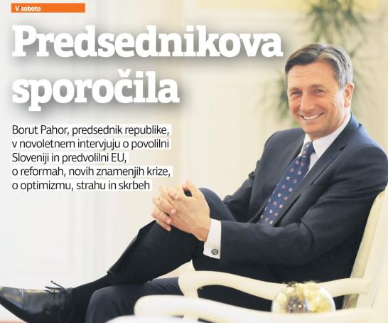 Večer Pahor intervju
