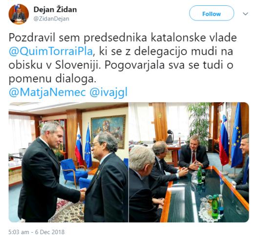 Torra Židan tvit