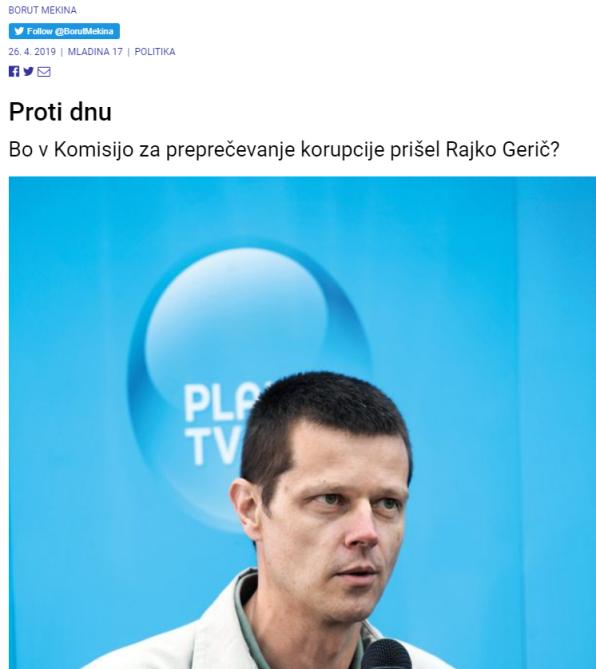Gerič Mladina nov članek