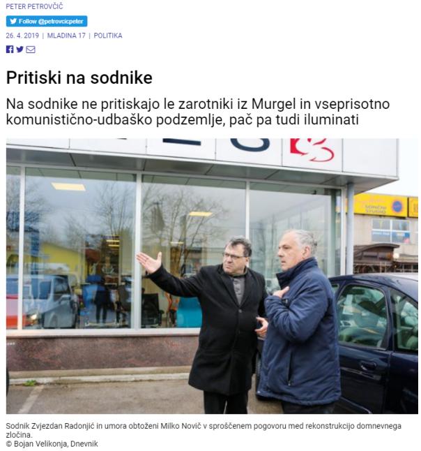 Radonjič Petrovčič Mladina