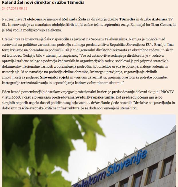 Žel Telekom finance