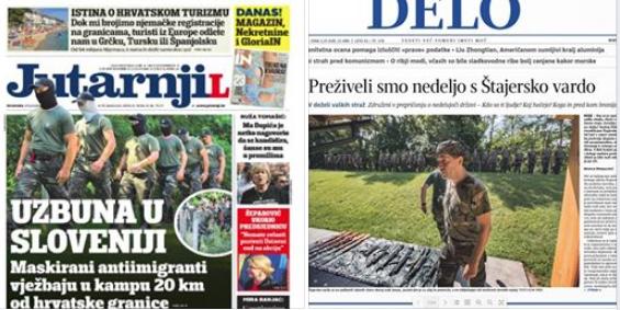 kontrast dveh naslovnic delo varda