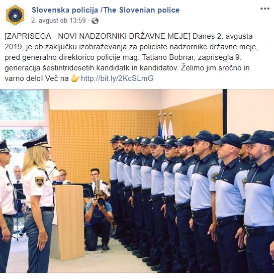 policija bobnar nadzorniki meje