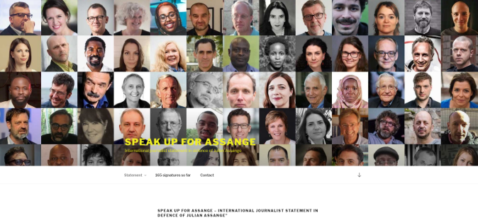 speak up assange