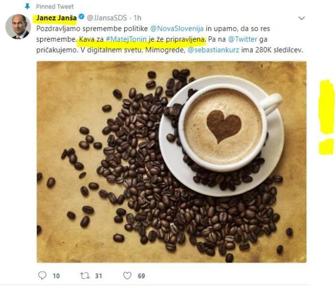 jj kava tonin