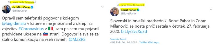 JJ Pahor Cerar vlada
